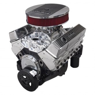 Edelbrock® - Performer Hi-Torq Single n Dual-Quad Crate Engine