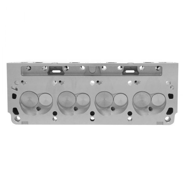 Edelbrock® - E-Series E-205 Complete Satin Cylinder Head Set