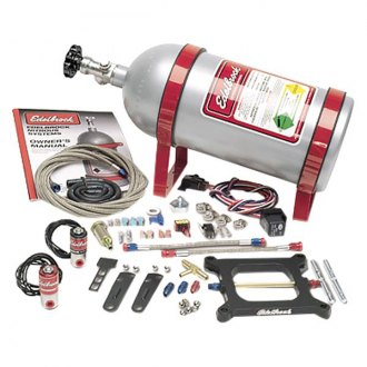 Edelbrock® - Performer Carb/Plate Nitrous System