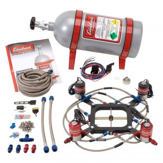 Edelbrock® - Performer RPM II Carb/Plate Nitrous System