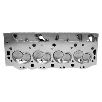 Edelbrock® - E-CNC 325 Oval Port Satin Cylinder Head