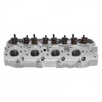 Edelbrock® - E-CNC 355 Rectangle Port Satin Cylinder Head
