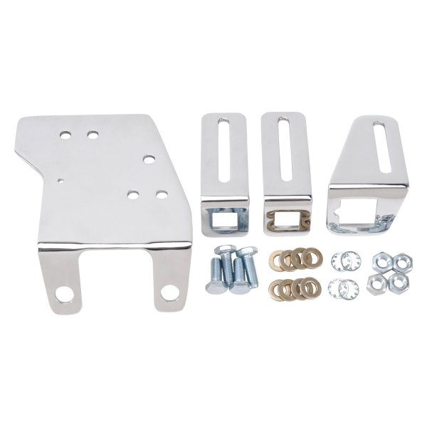 Edelbrock® - Chrome Plated Throttle Cable Brackets