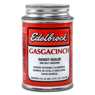 Edelbrock® - Gasgacinch Gasket Sealer and Belt Dressing 4 oz