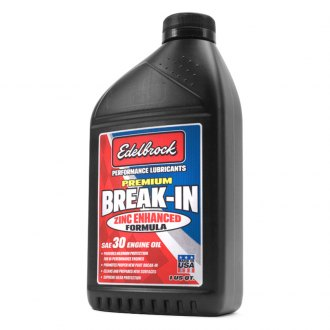 Edelbrock® - SAE 30 High Performance Premium Break-In Motor Oil