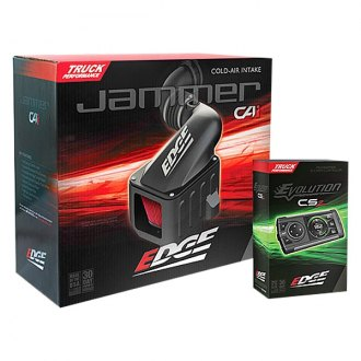 Edge® - Jammer™ Stage 1 Performance Black Cold Air Intake System and Evolution CS2 Programmer