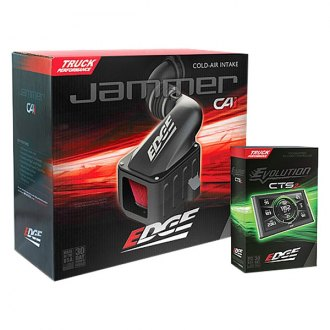 Edge® - Jammer™ Stage 1 Performance Black Cold Air Intake System and Evolution CTS2 Programmer