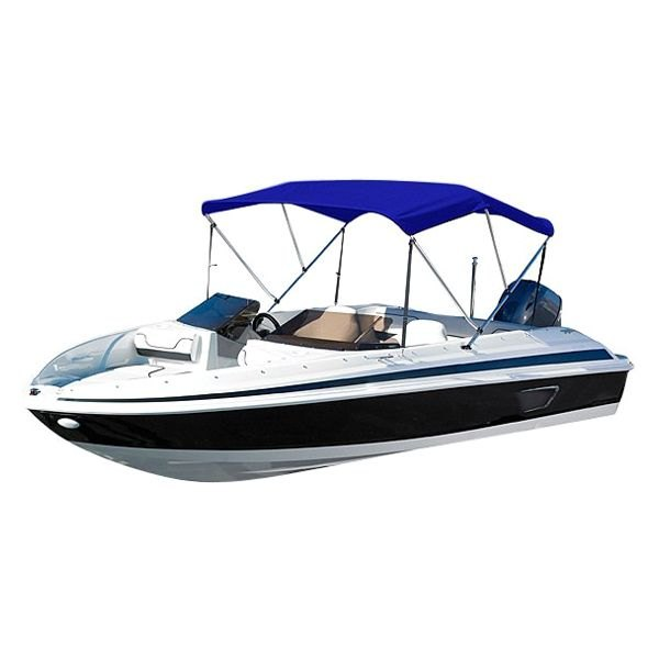 "Eevelle® - Summerset™ Premium 3-Bow Red Bimini Top 72"" L x 79""-84"" W x 36"" H"
