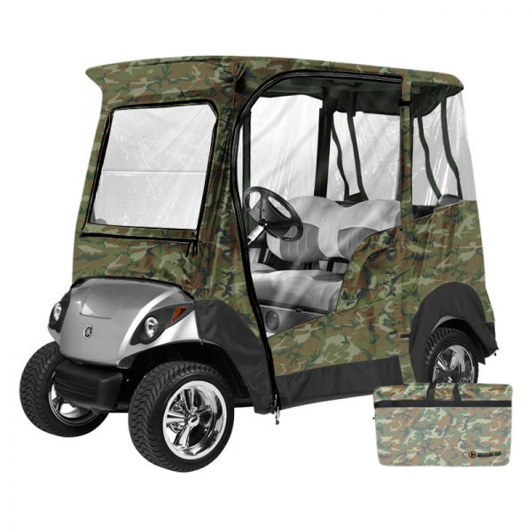Eevelle® - Greenline™ Yamaha Drive™ 2-Person Camo Golf Car Enclosure