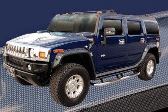 "E&G Classics® - Factory Black ""Off Road Style"" Fender Flares"