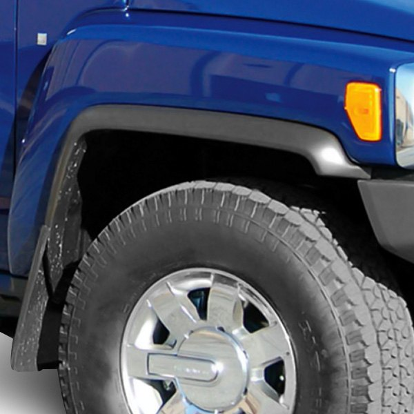 E&G Classics® - Street Style Black Front and Rear Fender Flares