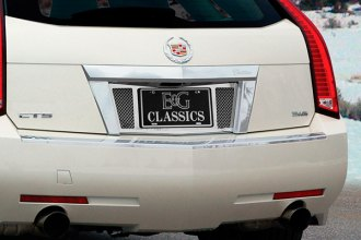 E&G CLASSICS® - Black Ice Rear License Tag Surround