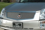 E&G Classics® - 2-Pc Classic Dual Weave Chrome Mesh Grille Kit
