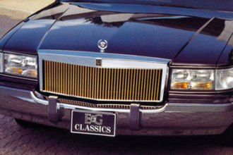E&G Classics® 1005-0121-93R - Classic Style Low Profile Grille (Gold)