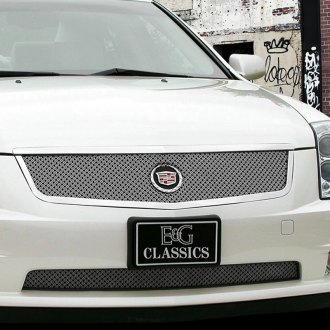2006 cadillac sts custom grilles billet mesh led. Black Bedroom Furniture Sets. Home Design Ideas