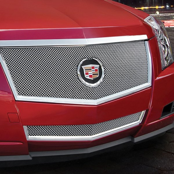 E&G Classics® - 2-Pc Polished Fine Mesh Grille Kit