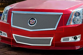 "E&G Classics® 1007-0104-08E - ""E-Series"" Chrome Heavy Mesh Grille Kit"