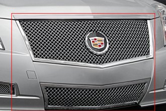 "E&G Classics® 1007-0104-08E - 2-Pc ""E-Series"" Chrome Heavy Mesh Grille Kit"