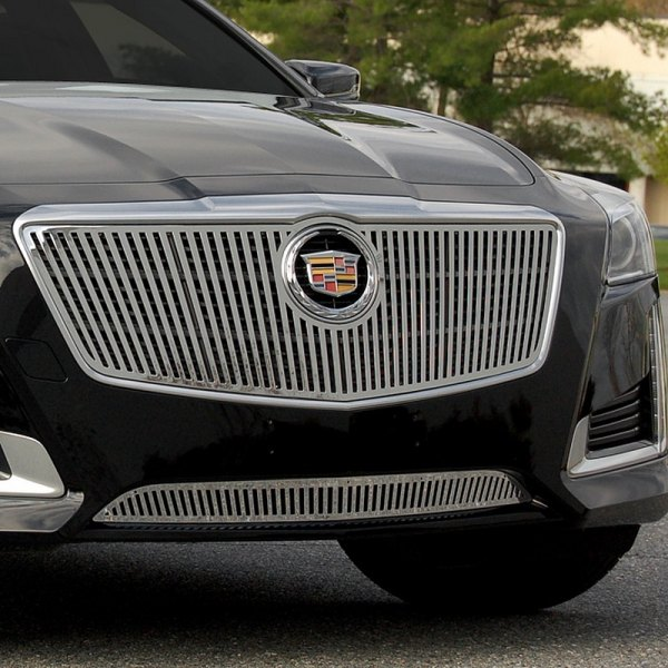 Custom Cadillac Cts: Cadillac CTS 2014 Chrome Vertical Billet