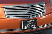 "E&G Classics® - 2-Pc Classic 3D ""Z"" Style Polished Grille Kit"