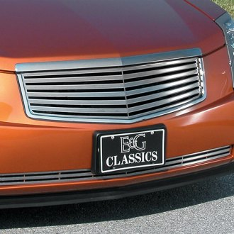 "E&G Classics® - 2-Pc Classic 3D ""Z"" Style Polished Grille"
