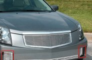 "E&G Classics® - ""Q"" Style Polished Driving Light Grille"