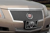 E&G Classics® - 2-Pc Black Fine Mesh Grille Kit