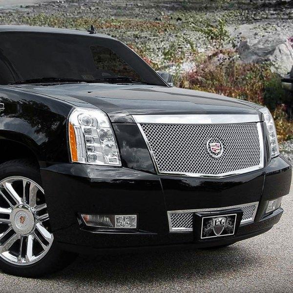 Cadillac Escalade 2008 Chrome Heavy Mesh