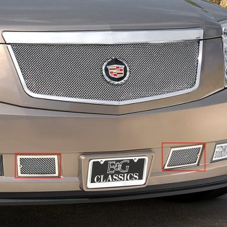 E&G Classics® - Chrome Fine Mesh Tow Hook Covers