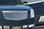 E&G Classics® - Silver Classic Style Chrome Vertical Grille