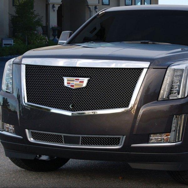 Cadillac Escalade 2015 Used: Cadillac Escalade 2015 Black Heavy Mesh Grille