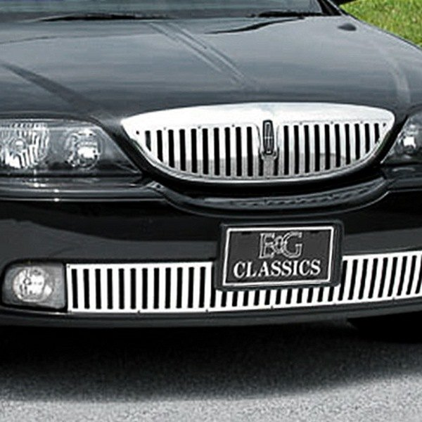 "E&G Classics® - ""Z"" Style Polished Vertical Grille"