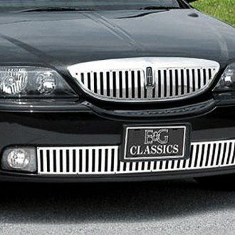 "E&G Classics® - ""Z"" Style Polished Vertical Billet Grille"