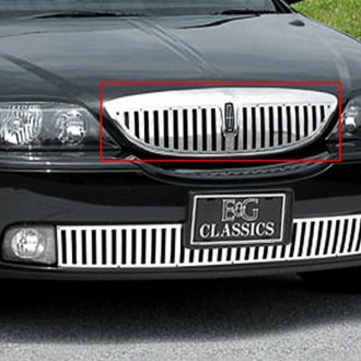 "E&G Classics® - ""Z"" Style Polished Vertical Billet Main Grille"