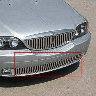 "E&G Classics® - ""Z"" Style Polished Vertical Billet Bumper Grille"