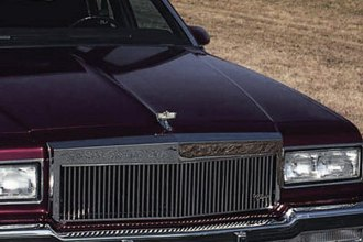 E&G Classics® - Classic Low Profile Silver Vertical Billet Main Grille