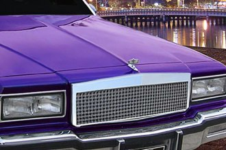E&G Classics® - Low Profile Dual Weave Chrome Mesh Main Grille