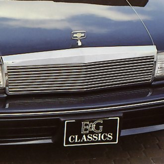 E&G Classics® - Low Profile Silver Horizontal Main Grille