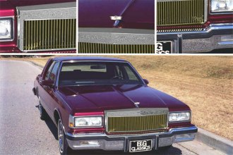 E&G Classics® - Classic Style Low Profile Grille - Gold