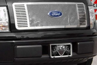 "E&G Classics® - Chrome Fine Mesh Grille with ""Q"" Bar"