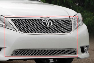 E&G Classics® 1080-0104-11 - Chrome Heavy Mesh Grille Kit