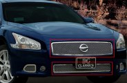 E&G Classics® 1083-0104-09 - Chrome Heavy Mesh Grille Kit