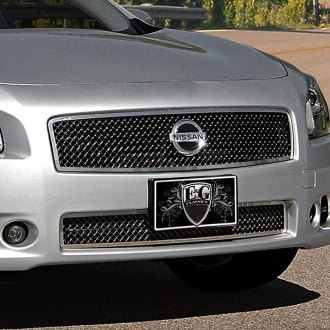 E&G Classics® - 2-Pc Black Heavy Mesh Grille