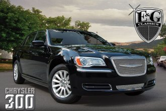 E&G Classics® - Ultimate Series Chrome Dual Weave Mesh Grille