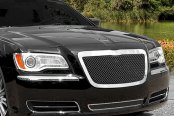 E&G Classics® - Black Ice Chrome Fine Mesh Grille