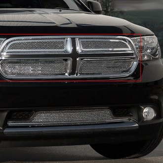 E&G Classics® - Chrome Fine Mesh Grille with Stainless Surrounds