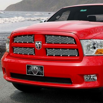 E&G Classics® - 4-Pc E-Power Chrome Fine Mesh Main Grille