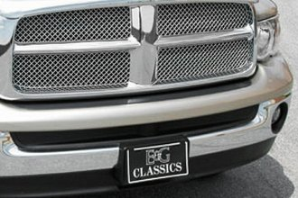 E&G Classics® - 2-Pc Chrome Heavy Metal Mesh Main Grille