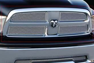 E&G Classics® 1117-0104-09 - 4-Pc Chrome Heavy Mesh Main Grille