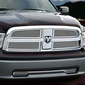 E&G Classics® - 4-Pc Q Style Polished Grille